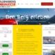 Webseite für Bergbahn