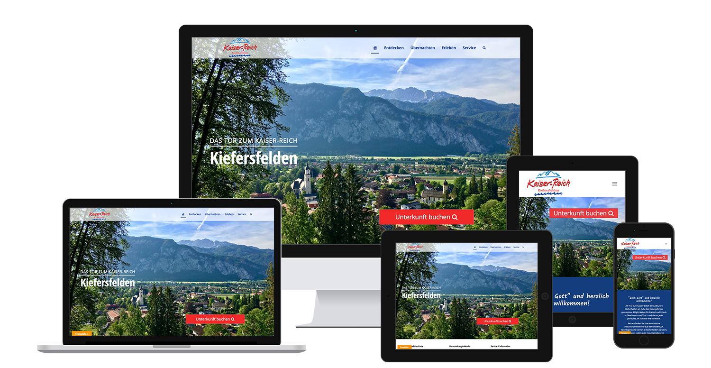 Responsive Webdesign: Internetauftritt auf verschiedenen Endgeräten