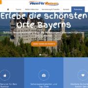 Webseite Mentor Reisen