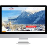 Referenzen Agentur Guthmann: Tourismus-Destination auf PC-Bildschirm