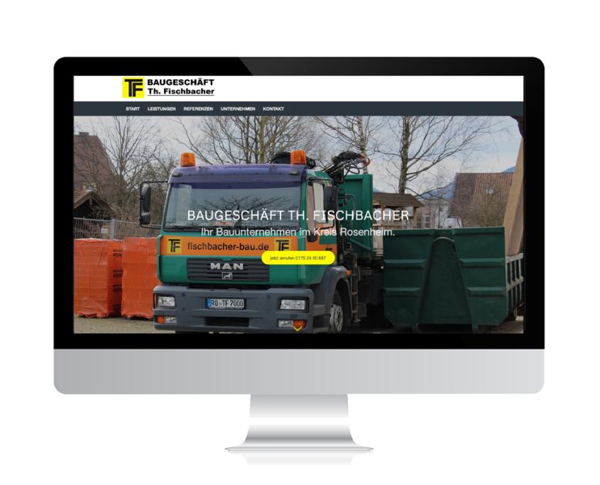 WebDesign Rosenheim Referenz für Handwerksunternehmen