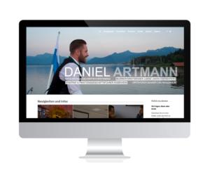 Daniel Artmann, Rosenheim – Webseite relauncht