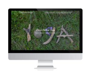 CHRISInnYoga, Raubling geht mit neuer Webseite von Webdesign Rosenheim online