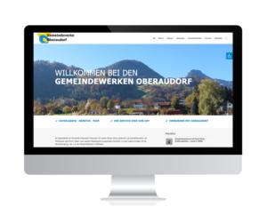 Relaunch Gemeindewerke Oberaudorf