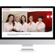 Referenzen Agentur Guthmann: Arztpraxis auf PC-Bildschirm
