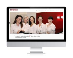 Relaunch Augenärztin Dr. Haritoglou, Ismaning