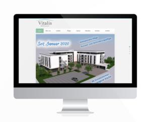 Vitalis Seniorenresidenz Mühlhausen Webseite online