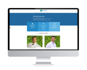 Orthopädie Kirchseeon mit eigener Webseite online