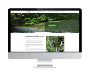 Kieferer Energiewanderweg online