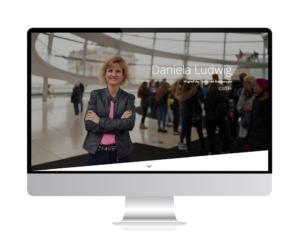 Relaunch der Webseite Bundestagsabgeordnete Daniela Ludwig